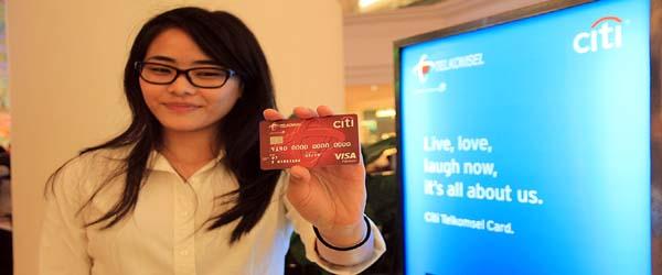 Citi Indonesia dan Telkomsel tambah manfaat bagi kartu kredit Visa Citi Telkomsel