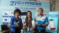 21Express Rilis Aplikasi Pengiriman Barang