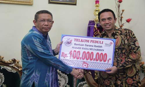 Telkom Berikan Beasiswa Untuk Mahasiswa Kalimantan Barat
