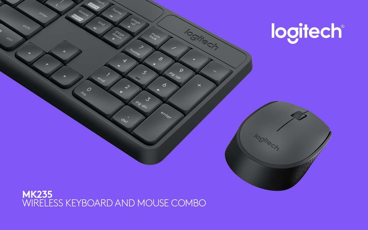 Ini Keyboard dan Mouse Combo Spill Resistant Ala Logitech