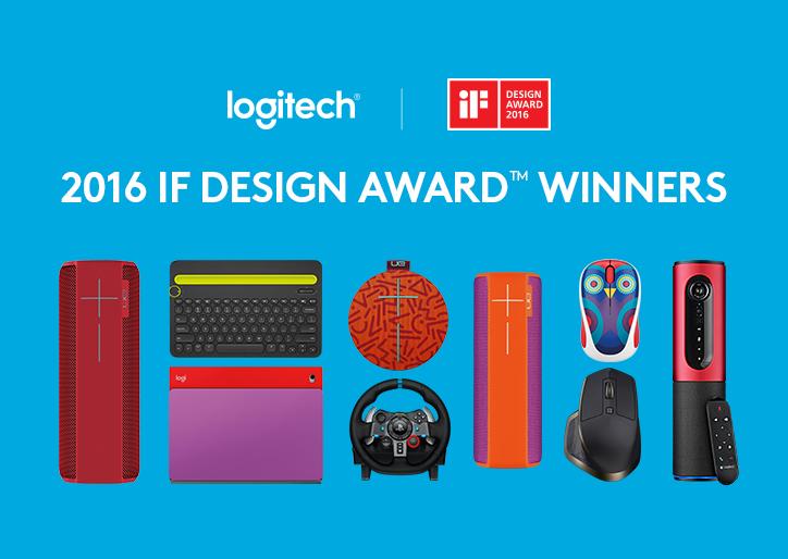 Logitech Raih 8 penghargaan di IF Design Award 2016