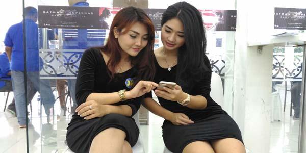 Pasar smartphone Indonesia hanya tumbuh 1%