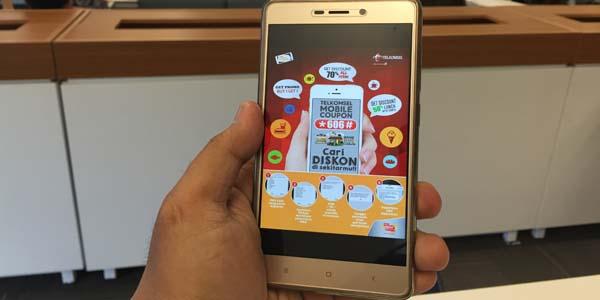 Telkomsel Geber Layanan Mobile Coupon