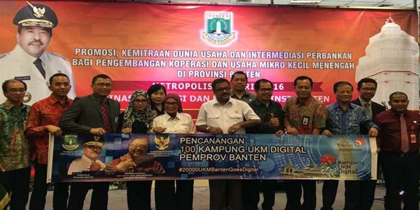 Telkom Siap Bawa 20 ribu UKM Goes Digital di Banten