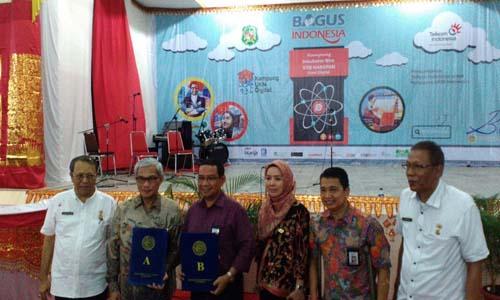 Telkom Perkuat Kampung UKM Digital di Medan