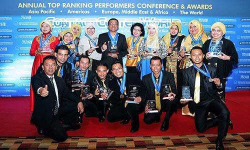 Tele Account Telkom DBS borong penghargaan Contact Center World Award Asia Pasific 2016