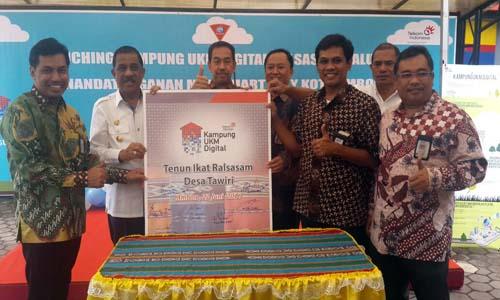 Telkom bikin Kampung UKM Digital Menggeliat di Ambon