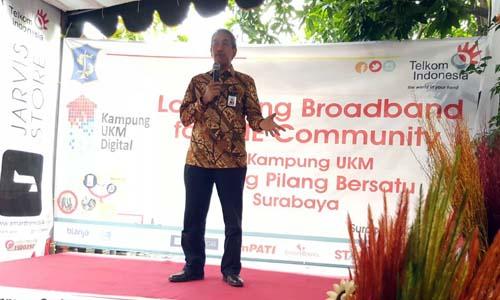 Telkom canangkan gerakan seribu Kampung UKM Digital