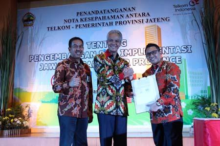 Telkom smart city nusantara akan diadopsi Provinsi Jateng