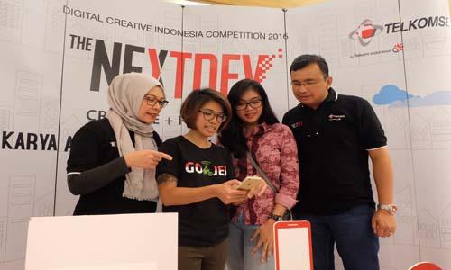 Telkomsel cari anak muda kreatif di Jakarta