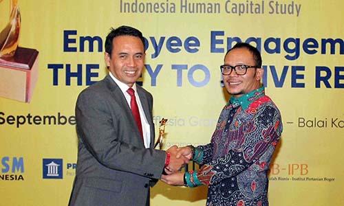 Telkom sikat enam penghargaan Indonesia Human Capital Study 2016