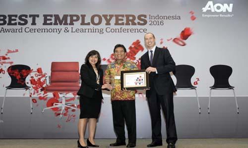 Telkom raih Best of The Best Employers 2016