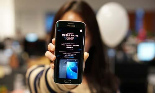 Shopee obral ponsel selama 14 hari