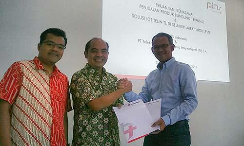 PINS sinergi dengan Telkomcel garap bisnis IoT di Timor Leste