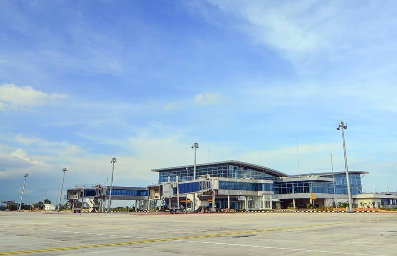 Terminal Baru Bandara Depati Amir Lebih Digital