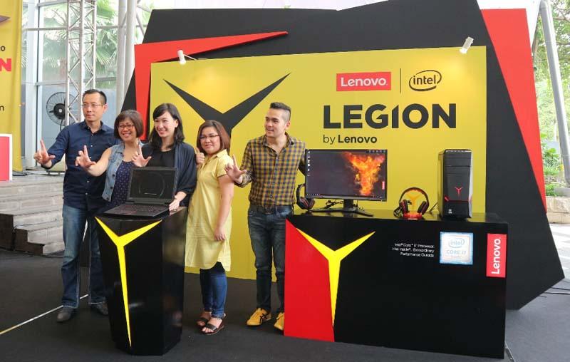 Lenovo jadikan Legion sebagai Sub-Brand Gaming
