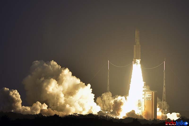 Roket Ariane 5 jalankan 80 misi dengan sukses