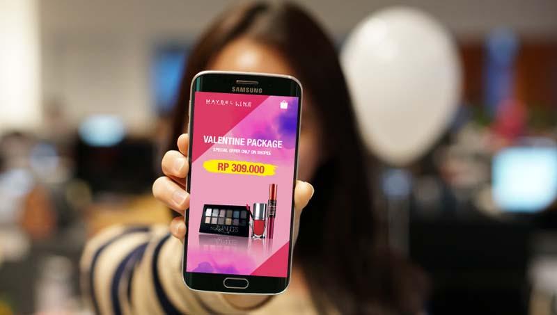 Shopee digaet Maybelline untuk penjualan eCommerce