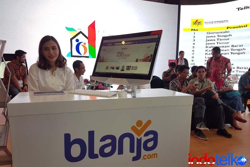 HUT ke-3, Sudah 30 ribu UKM Go Online bersama BLANJA.com