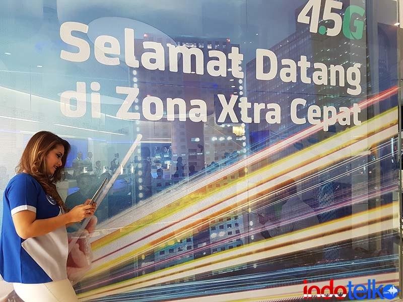 Trafik data XL naik 25% karena lebaran virtual