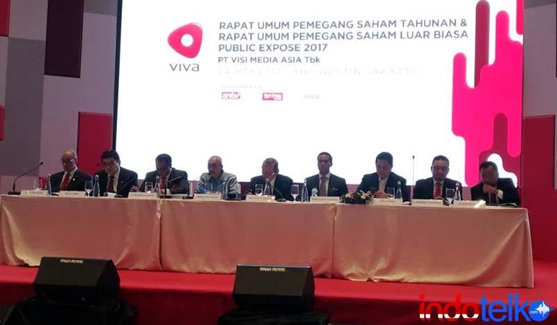 Paruh tahun, VIVA sudah untung Rp217 miliar