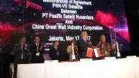 PSN gandeng CGWIC untuk satelit PSN VII