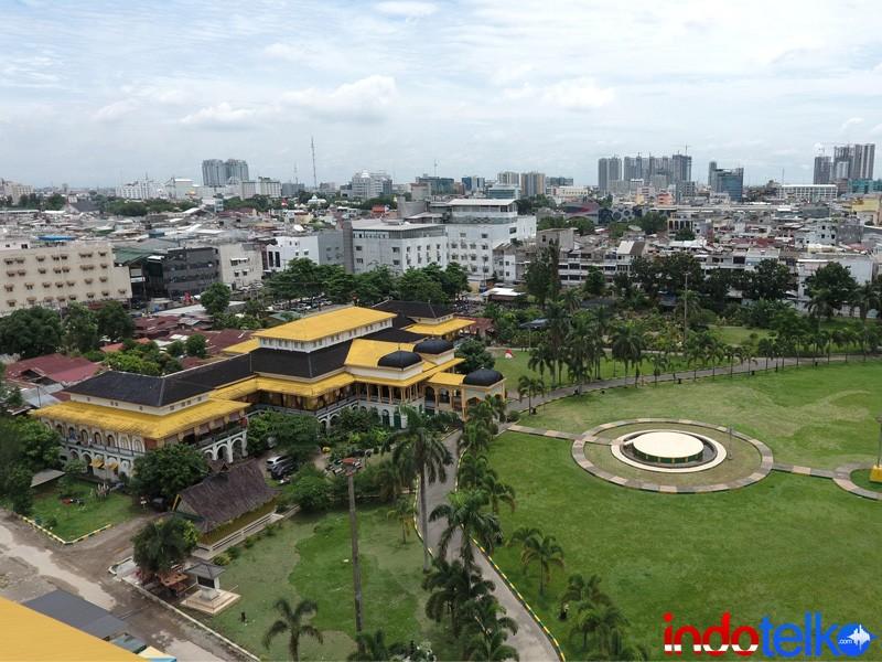 Internet cepat selimuti Istana Maimun dan Masjid Raya Medan