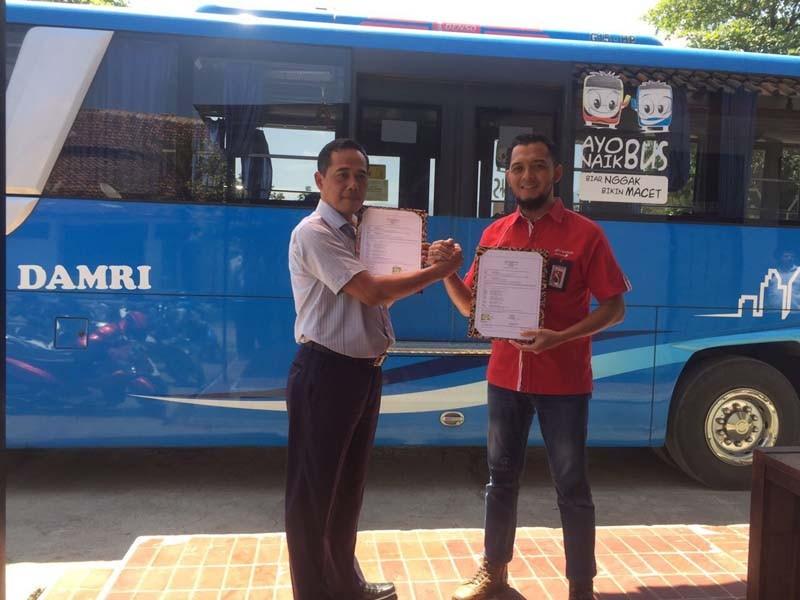 Telkomsel dukung digitalisasi armada DAMRI di Jabar