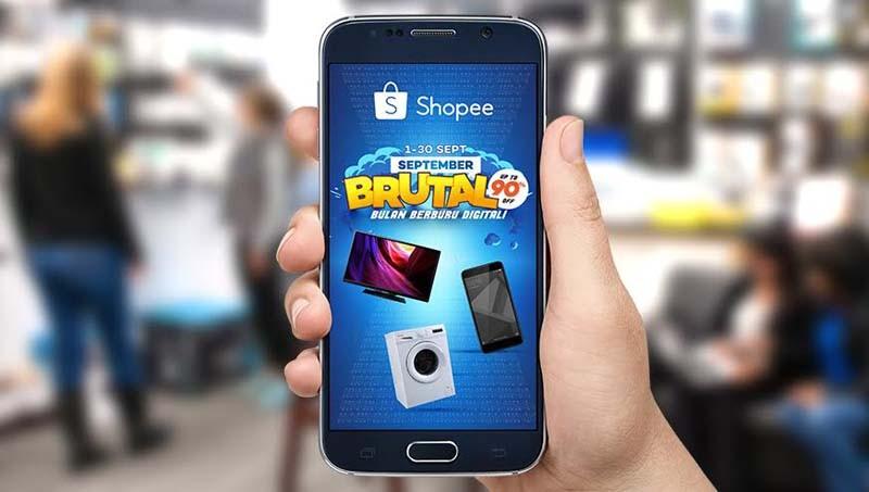 """Shopee lakukan aksi """"Brutal"""" untuk produk elektronik"""