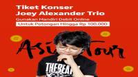 Wow, ada tiket konser Joey Alexander di BLANJA.com