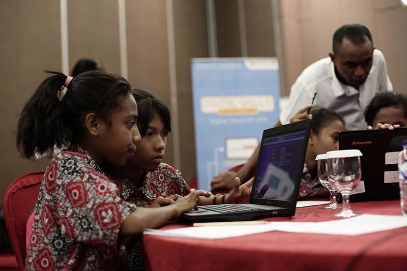 Kolaborasi membuat internet aman bagi anak