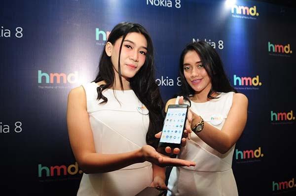 Nokia 8 cicipi panasnya pasar smartphone Indonesia