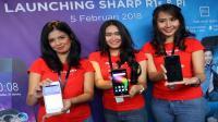 SHARP rilis dua smartphone untuk millenial