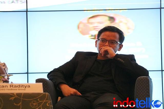 CEO YesBoss Group Irzan Raditya