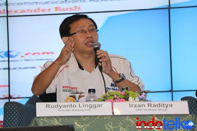 Founder Nebeng.com Rudyanto Linggar