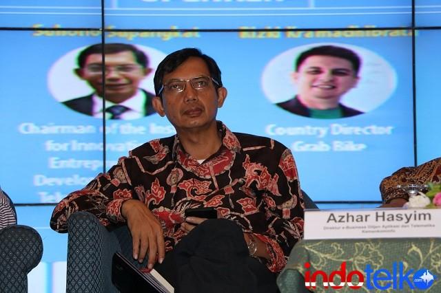 Ketua Lembaga Pengembangan Inovasi dan Kewirausahaan Institut Teknologi Bandung Suhono Supangkat