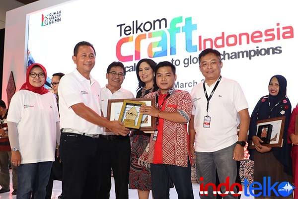Telkom Craft Indonesia 2018 raih transaksi Rp20,1 miliar