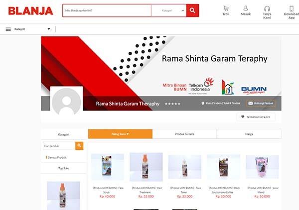 Telkom buka suara soal tutupnya BLANJA.com