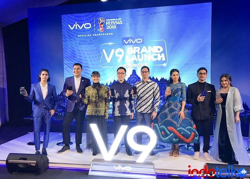Vivo V9 resmi masuk pasar, ini harga bandrolnya