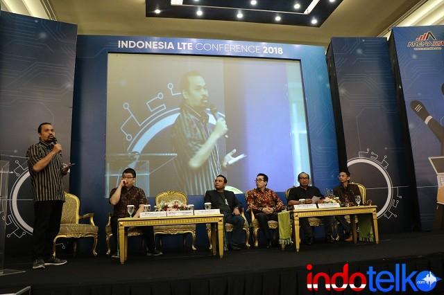 Sesi ke tiga acara Indonesia LTE Conference 2018