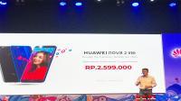Resmi, Huawei jual Nova 2 lite