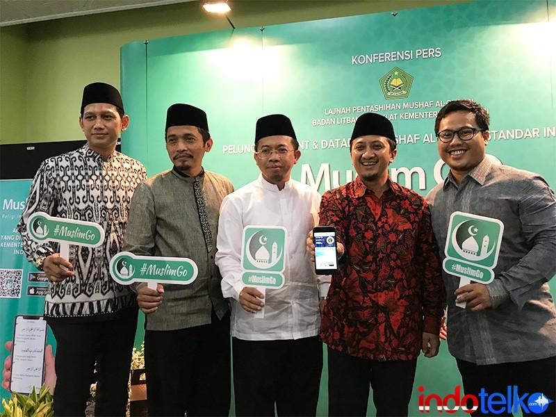 Muslim GO, gunakan font Mushaf Al Quran Standar Indonesia