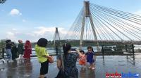 Mengukur kekuatan layanan 4G di jembatan Barelang