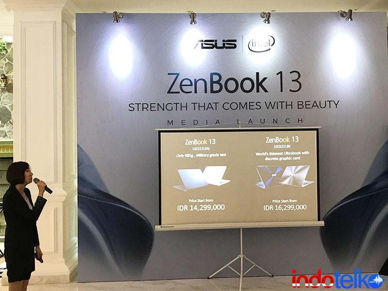 Asus luncurkan Zenbook 13 inci