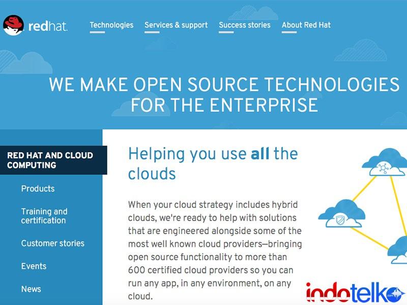 Ribuan perusahaan enterprise adopsi Red Hat OpenShift Container Platform