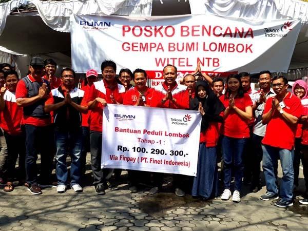 FinPay fasilitasi donasi digital untuk Lombok