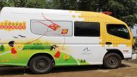 Indosat kirim Mobil Klinik ke Lombok