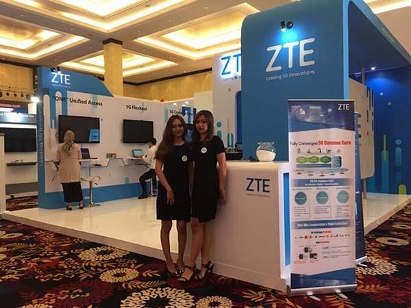 ZTE pamer inovasi di Bandung ICT Expo & Digital Broadband Summit 2018