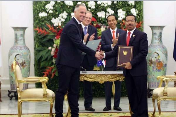 Indonesia-Australia perkuat kerjasama di keamanan siber