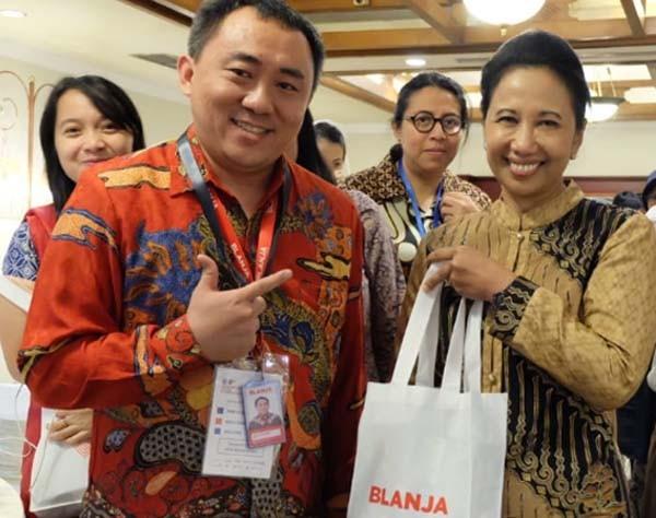 Pasar Rakyat Nusantara dongkrak transaksi BLANJA.com